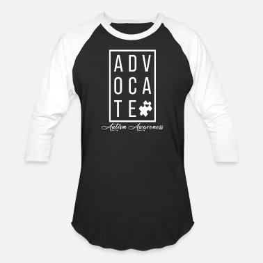 Toddler Teacher Advocate Autism Awareness, Autism Mom Teacher - Unisex Baseball T-Shirt
