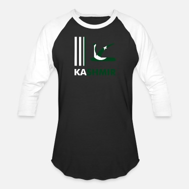 Occupy Kashmir Pakistan Flag Together Show Our Support - Unisex Baseball T-Shirt