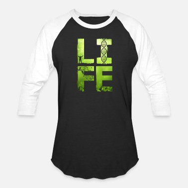 Four Letter Words LIFE , a four letter word - Baseball T-Shirt