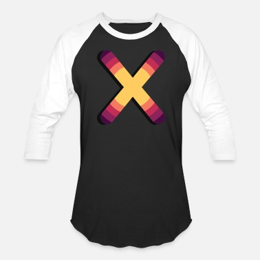 Sun Cross Sun | X Transient Cross - Baseball T-Shirt