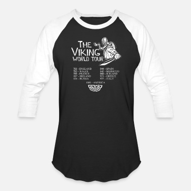 Tour THE VIKING WORLD TOUR - Unisex Baseball T-Shirt