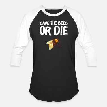 Lapsi Bee - Save the Bees Or die - Baseball T-Shirt