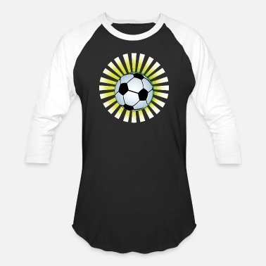Football Logo Football logo design - Unisex Baseball T-Shirt