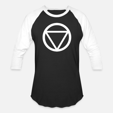 Triangle Circle Circle Triangle - Baseball T-Shirt