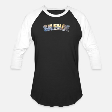 The Silence Silence - Unisex Baseball T-Shirt