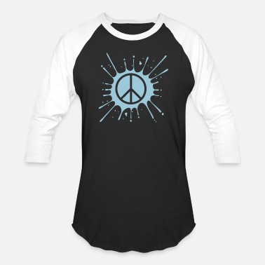 Protestant Peace Love hippie peace sign symbol peace war protest love dr - Unisex Baseball T-Shirt