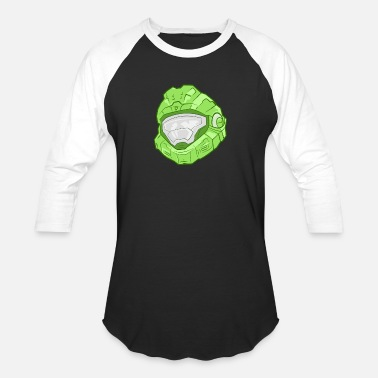 Green Leader - Unisex Baseball T-Shirt
