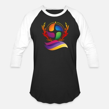 Attractive Multicolored awesome design - Unisex Baseball T-Shirt