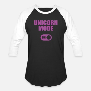 Mode UNICORN MODE ON - Unisex Baseball T-Shirt