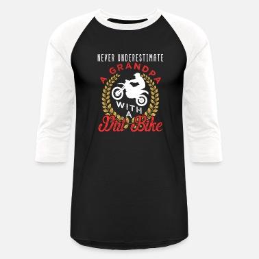 3067b5c2 Dirt Bike Grandpa Motocross Grandpa Dirt Bike - Unisex Baseball T-Shirt