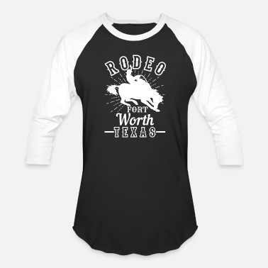 Dallas-fort Worth Dallas Rodeo Fort Worth Texas - Unisex Baseball T-Shirt