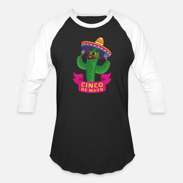 Latin Percussion Mexico sombrero cinco de mayo latin America - Unisex Baseball T-Shirt