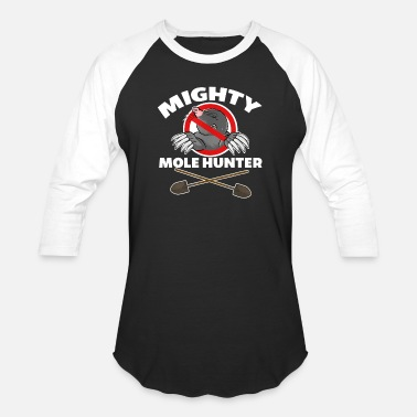 Mole Mighty Mole Hunter T Shirt - Unisex Baseball T-Shirt