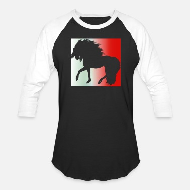 Kids Malta FANSHIRT Malta Football horse - Baseball T-Shirt