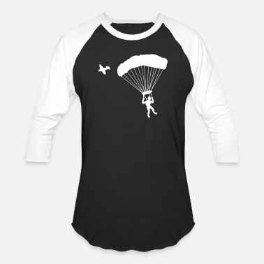 Skydiving Sport Skydiver Skydiving Sports - Baseball T-Shirt