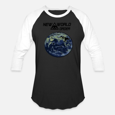 New World Order new world order - Baseball T-Shirt