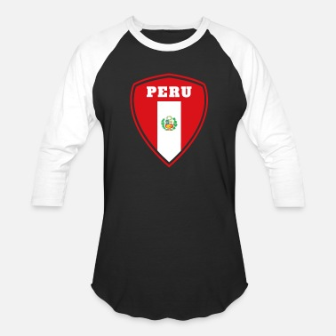 Latin America Peru coat of arms / gift South America flag Lima - Baseball T-Shirt