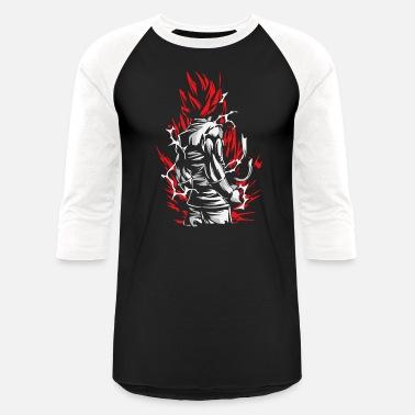a397188c6 Ball Goku Silluette - Dragon Ball - Unisex Baseball T-Shirt