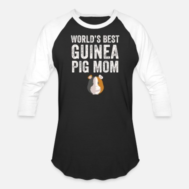 Swine Fever Pig mom - World's best guinea pig mom - Baseball T-Shirt