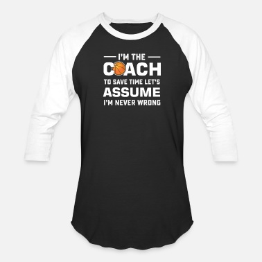 Coach Basketball dad coach gift for the best ever hoo - Baseball T-Shirt