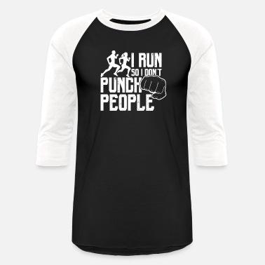 0bb3d4607 Funny Running Shirt I Run So I Don't Punch People Men's Premium T ...