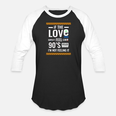 90s Music Cool 90s r and b music lover Tee - Baseball T-Shirt