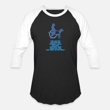 Service Dog My Best Friend - Baseball T-Shirt