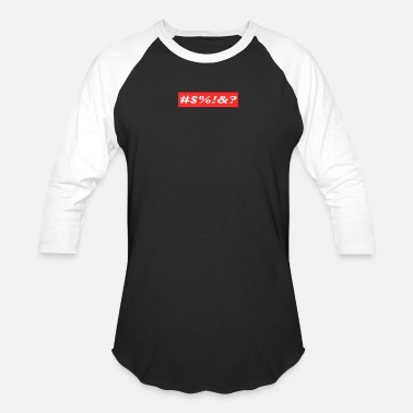 fbf10e502 Gucci Supreme logo SUPREME PALABRA #$% - Unisex Baseball T-Shirt