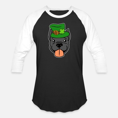 Leprechaun Costume Leprechaun Pitbull T-Shirt - St. Patricks Day - Baseball T-Shirt