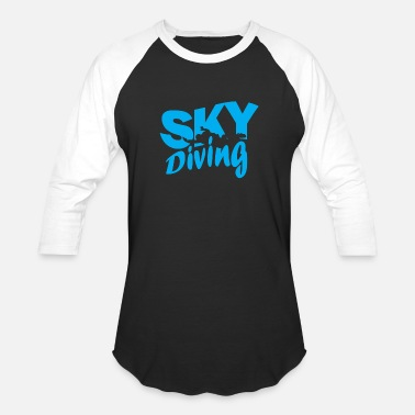 Skydiver Skydiving skydiver - Baseball T-Shirt