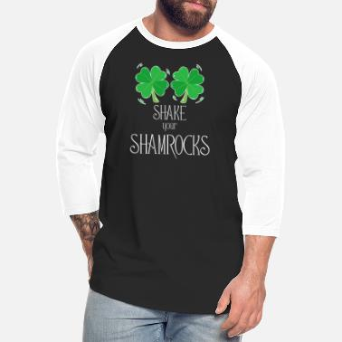 Shake Shake Your Shamrocks - Unisex Baseball T-Shirt