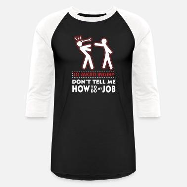 Avertissement éviter les blessures dont dire Comment Travail Drôle Shirt Mignon Cadeau Sans Manches T Shirt