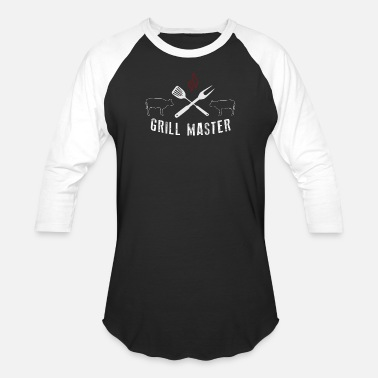 Master Of Grill Grill Master BBQ Grilling - Baseball T-Shirt