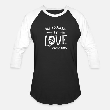 Dog Lover Dog Dogs Dog Lover Dog Owner Love Dog Gift - Unisex Baseball T-Shirt