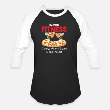 Fitness Whole Pizza Fitness Whole Pizza Love - Baseball T-Shirt