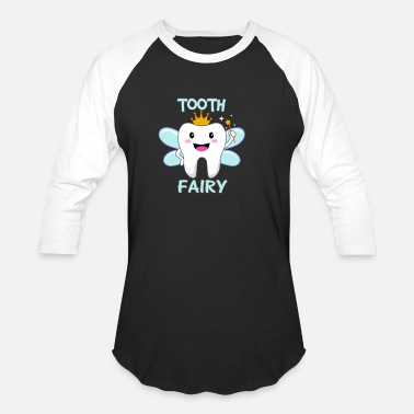Tooth Tooth Fairy - Unisex Baseball T-Shirt