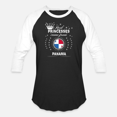 Panama queen love princesses PANAMA - Baseball T-Shirt