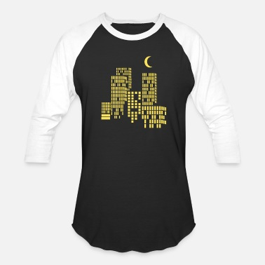 City Of Light city lights - Unisex Baseball T-Shirt