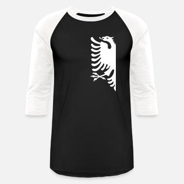Flag of Albania Eagle Long Sleeve T-Shirt