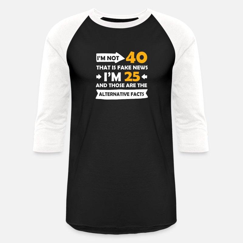 Im not 50 im 18 Homme T Shirt Drôle Blague Nouveauté Cadeau 50e