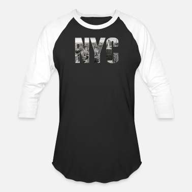 NYC New York City - Unisex Baseball T-Shirt
