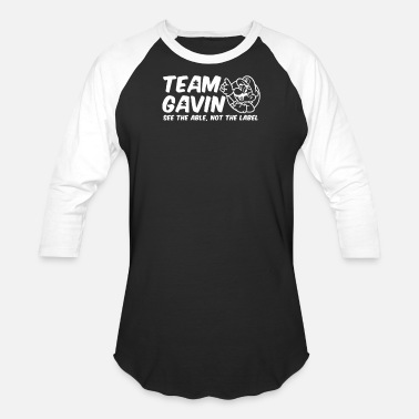 Autism Team Team Gavin for the Walk for Autism - Baseball T-Shirt