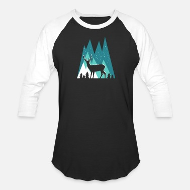 Hp Deer - Unisex Baseball T-Shirt