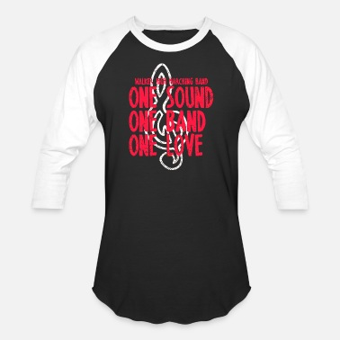 Sounds Band Walker High Marching Band One Sound One Band One L - Baseball T-Shirt