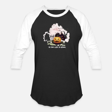 Boo Cat Spooky Spooky sweet pumpkin cat - Baseball T-Shirt