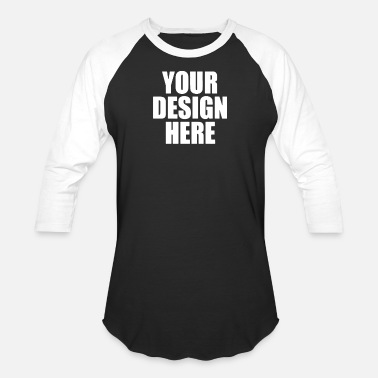 Picture Your Own - Unisex Baseball T-Shirt