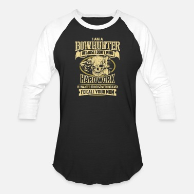 Steppenreiter Bowhunter - i am a bowhunter - Baseball T-Shirt