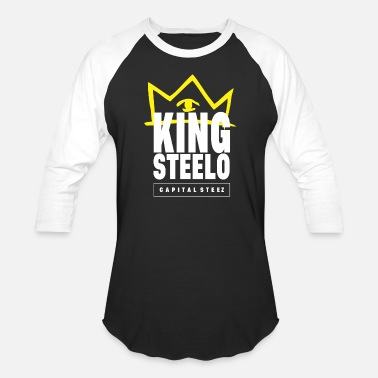 Capital King Steelo Capital Steez - Unisex Baseball T-Shirt