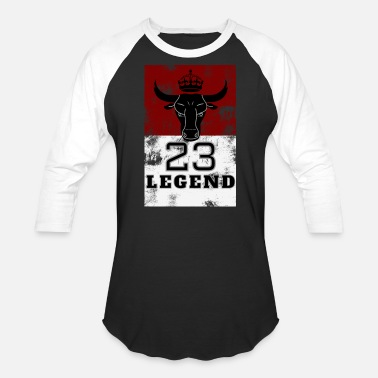 77de5ae58f0e Michael Jordan Goat Legend 23 MJ Bulls Basketball Jersey and more - Unisex  Baseball T-