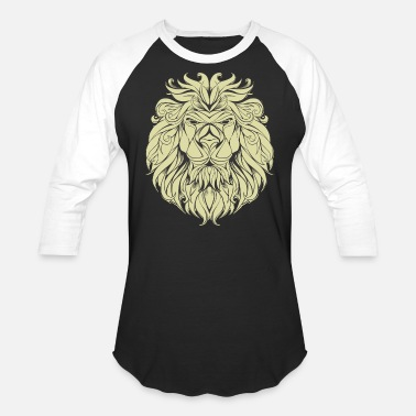 Lion Head Lion Roots - Baseball T-Shirt